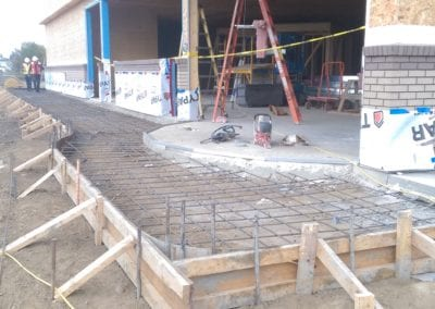 Gas Station Concrete Project